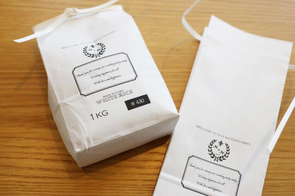 オリジナルデザイン米袋